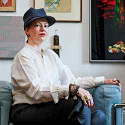 Julia Muggenburg at home in southwest London