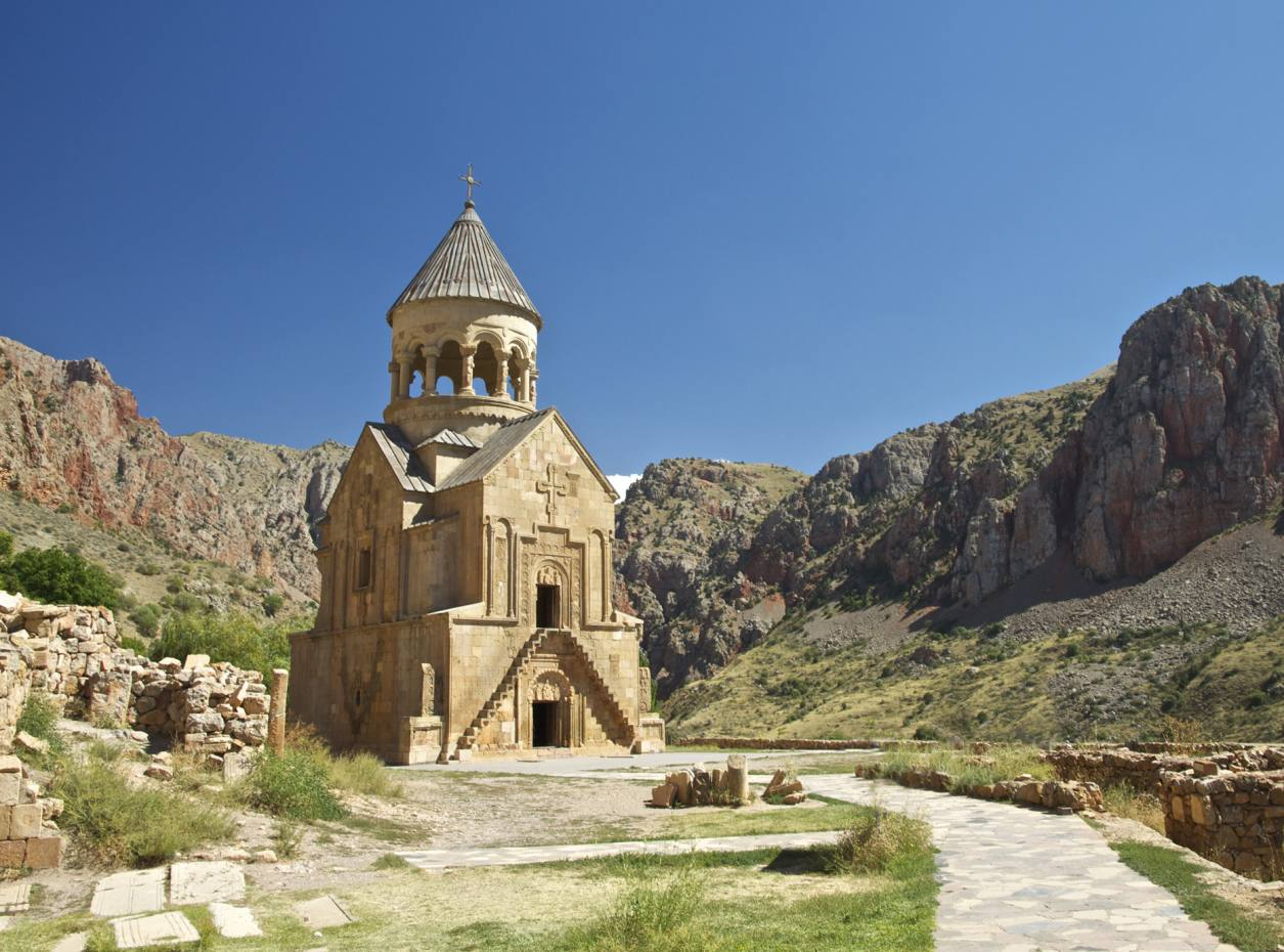 Surb Astvatsatsin church, at the 13th-century Noravank monastery complex