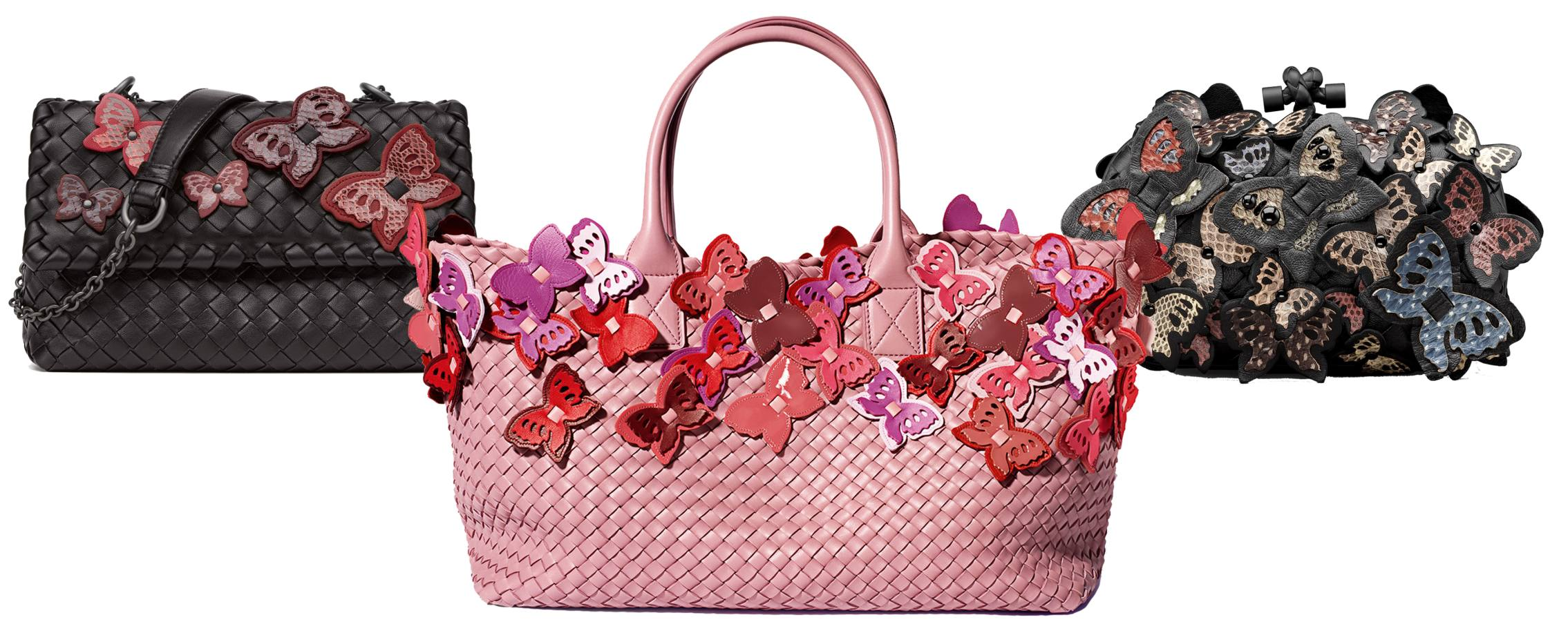 c86713179e97 Bottega Veneta s limited edition butterfly bags land at Harrods ...