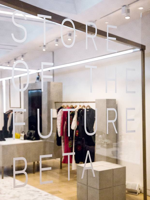 "Farfetch's ""store of the future"" concept is currently in beta at its new Browns East store in London"