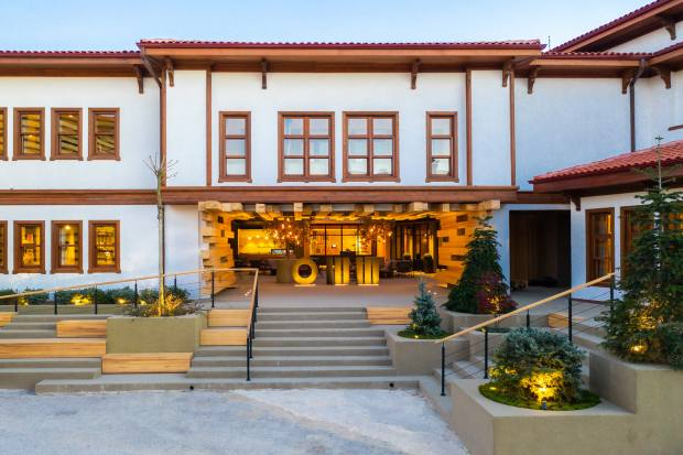 The Omm Inn, a new 12-suite in Eskisehir, Western Anatolia