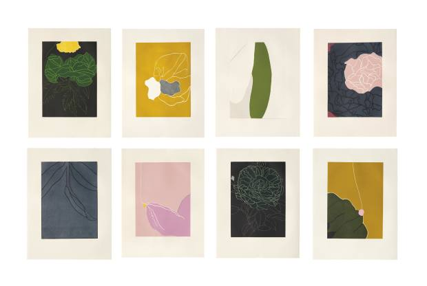 Here's Flowers by Gary Hume, 2006