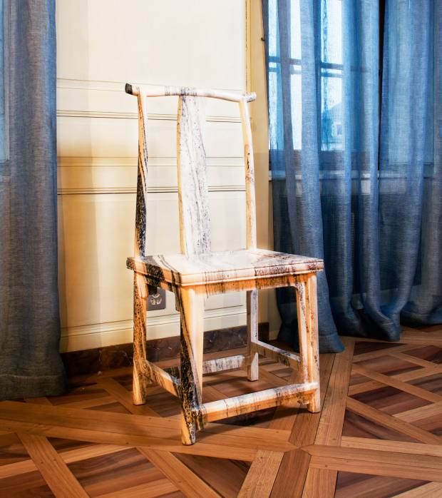 Marble Chair, 2008, by Ai Weiwei, €220,000