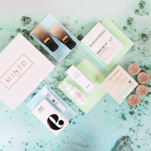 Mintd Box offers four or five full, travel-size or deluxe-sample-size skincare products each month for £70