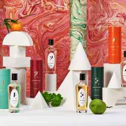 Claus Porto's Agua de Colonia fragrance collection features five different scents – Agua Vetiver, Agua Geranium, Agua Fougère, Agua Clementina and Agua Porto, all €85 for 125ml