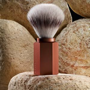 Mühle anodised aluminium Hexagon shaving brush (also in forest and graphite), from €55