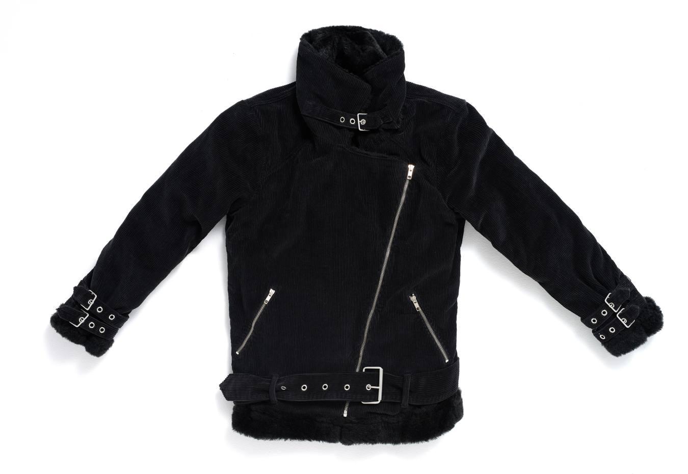 The Cords & Co corduroy biker jacket, $475