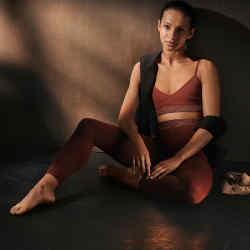Ballerina Francesca Hayward in pieces from the limited edition collection