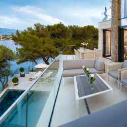 A four-bedroom villa on Brac, the exclusive island opposite Split, Croatia, €2.4m through Savills