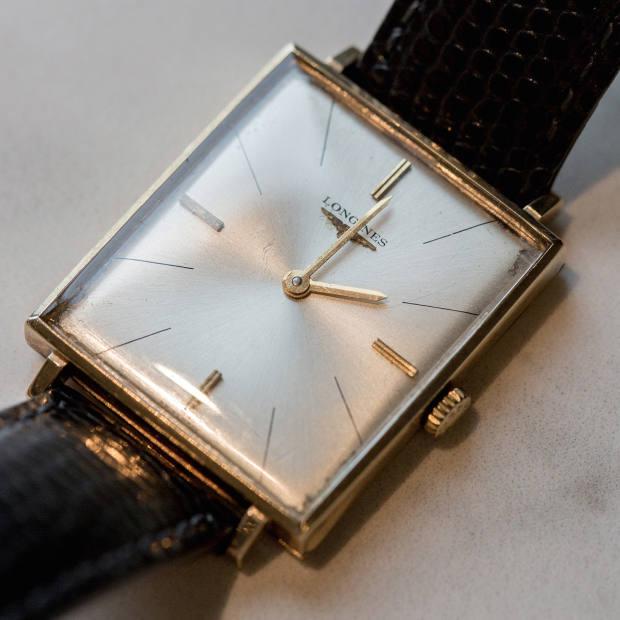 Hopwood's vintage Longines watch