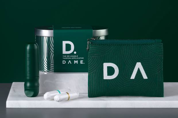 Dame is the world's first reusable tampon applicator