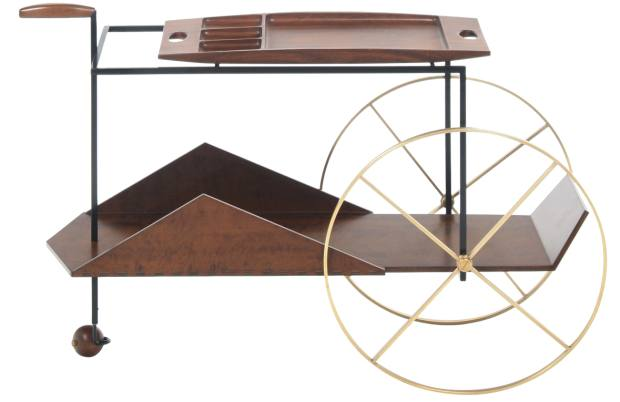 The JZ trolley, €8,830, from theinvisiblecollection.com