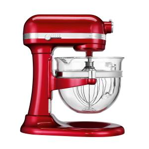 KitchenAid Artisan 6L stand mixer with glass bowl, £699. Also in other colours