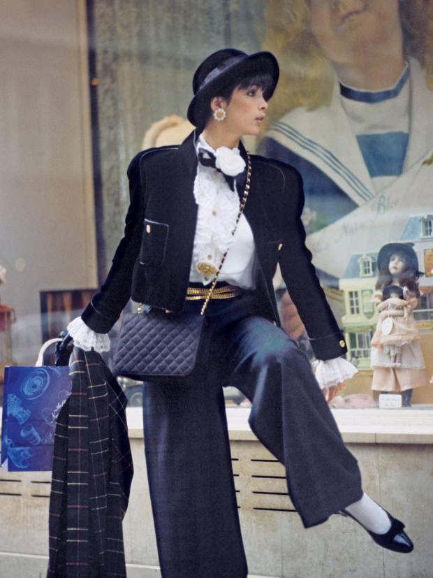Chanel jacket: 1980s