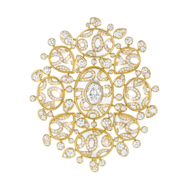 Chanel gold and crystal Magnétique brooch from Les Talismans de Chanel collection, £136,000