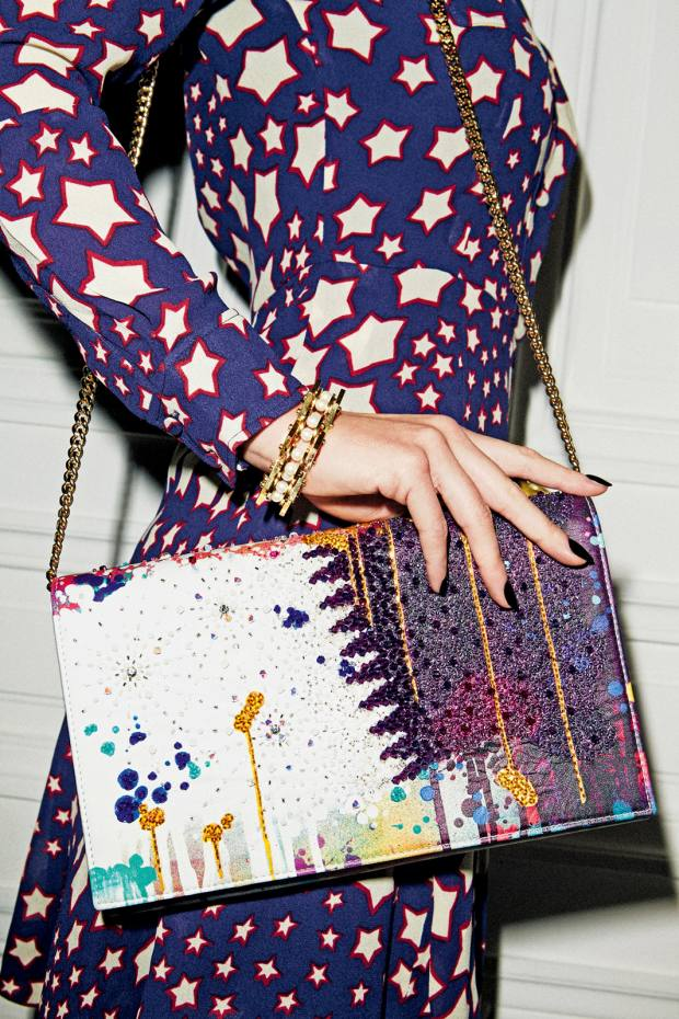 Preciously Paris lambskin Arabian Nights bag, €2,225