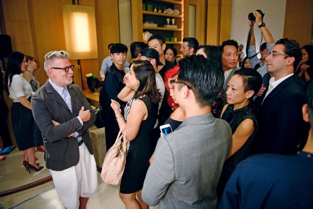 Fashion maestro NickWooster's session at The Upper House