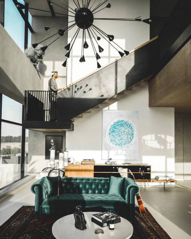 A TZedArchitects-designed apartment in Koa Canvas, a creative enclave in Dubai