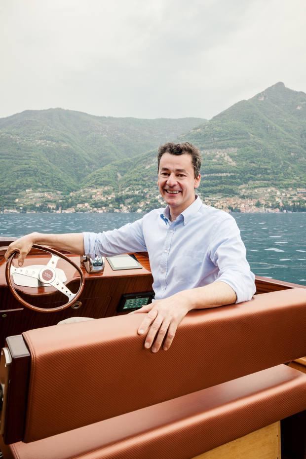 Daniele Riva on Lake Como