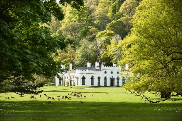 The seven-bedroom Luggala in Roundwood, Wicklow, which sits within a 5,000-acre estate, €28m through Sotheby's International Realty