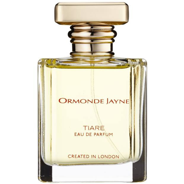 The peach and coconutnuancesoftiare flowers in Ormonde Jayne Tiare (£110 for 50ml EDP) are enhanced withjasmine and ylang ylang