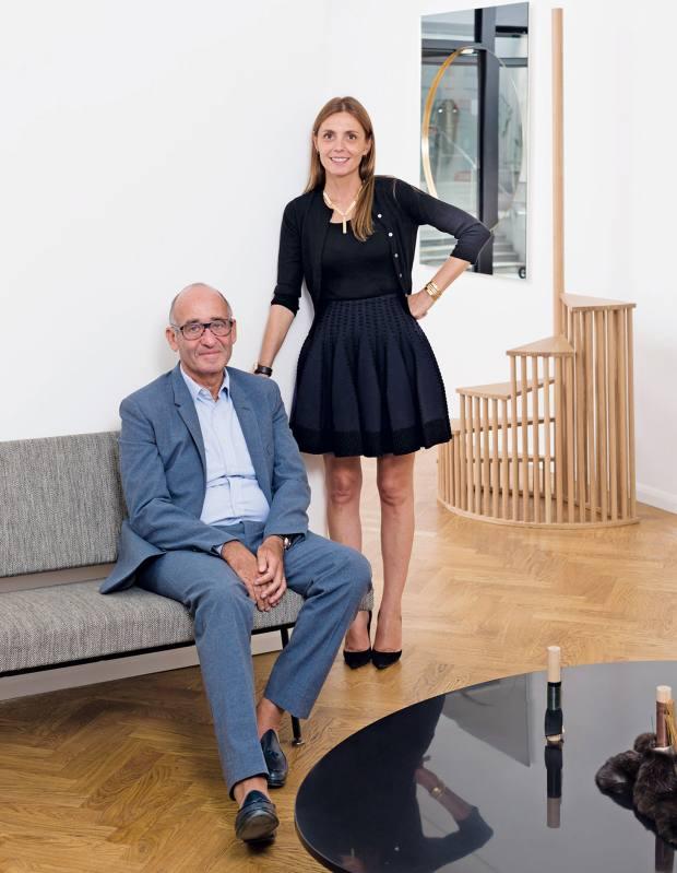 Didier and Clémence Krzentowski of Galerie Kreo