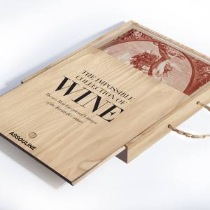 The Impossible Collection of Wine comes in a limited edition wooden case, $845