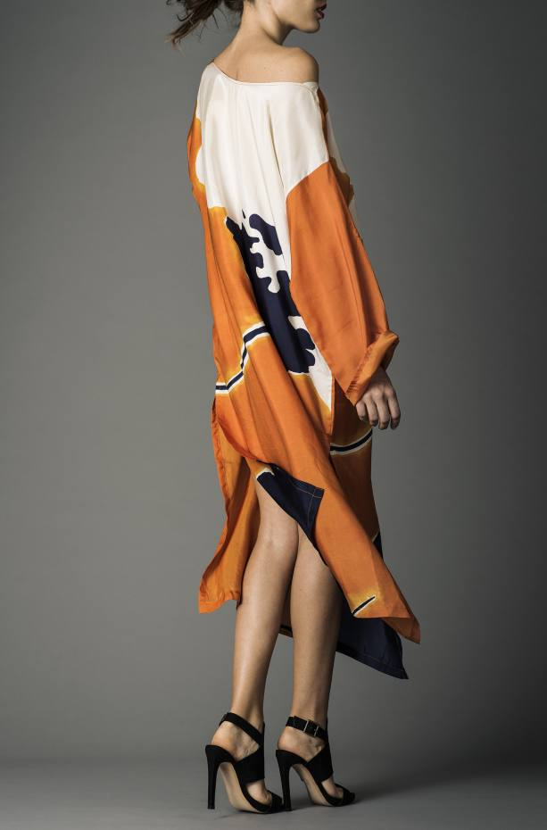 Ddoo Collective silk kaftan, £360