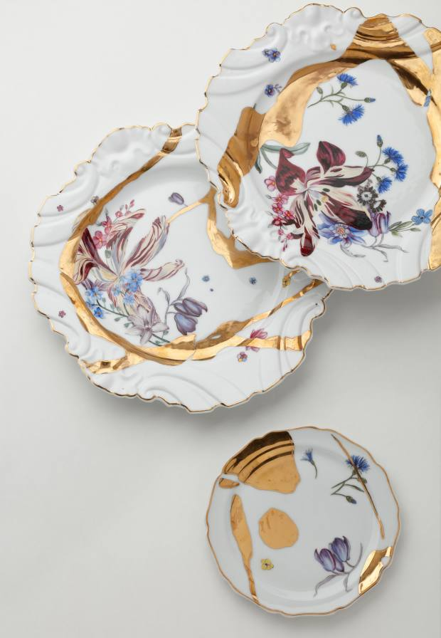 The six-place setting is priced from £32,500
