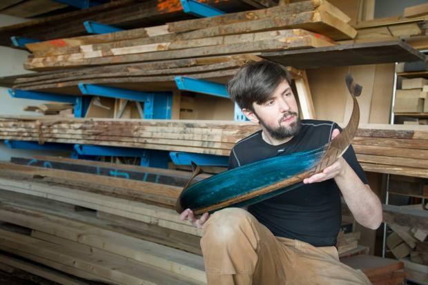 Egeværk's Lasse Kristensen is a Nordic cabinetmaking champion