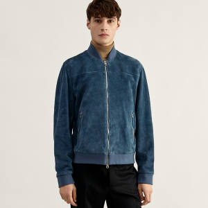 Suede blouson jacket, £1,095