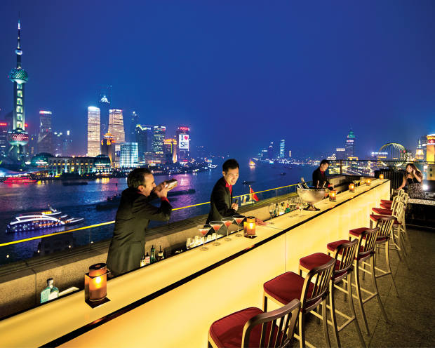 The many culinary experiences on the excursion include a six-course Michelin-starred dinner at The Peninsula Shanghai's Sir Elly's Terrace restaurant