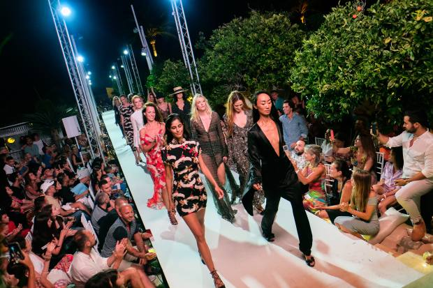 The venue's anniversary celebrations will include a sunset fashion show