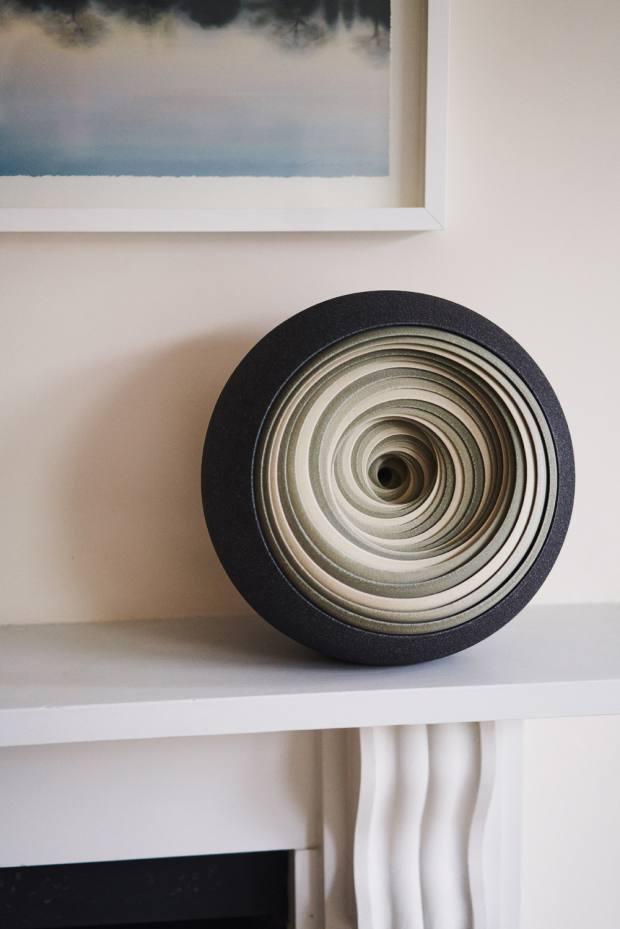 Grey Green Spiral by Matthew Chambers