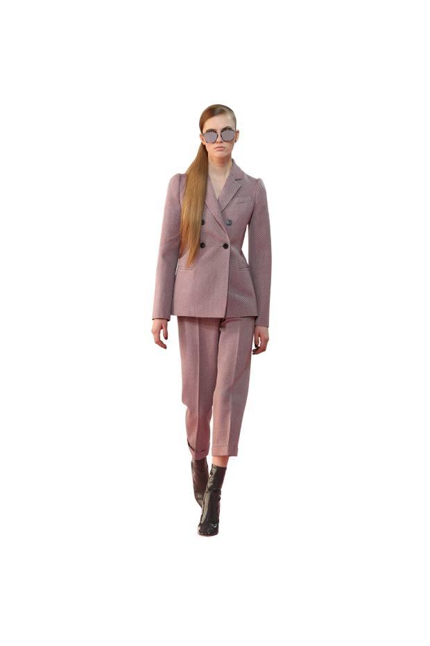 Dior tweed trouser suit, £3,450