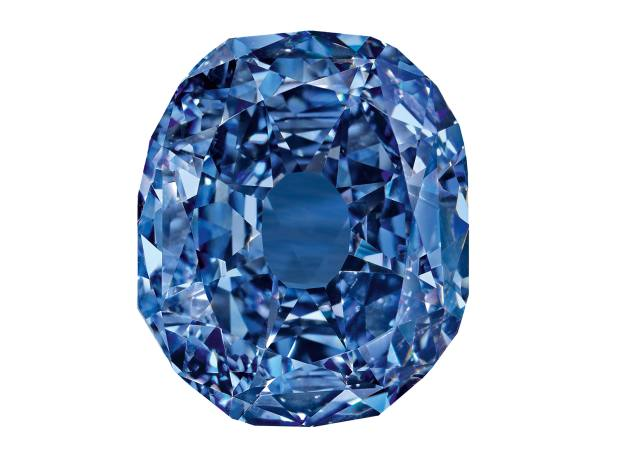 The Wittelsbach-Graff, the largest fancy-blue diamond in the world