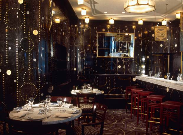 Prunier specialises in French caviar in its splendid art deco restaurant