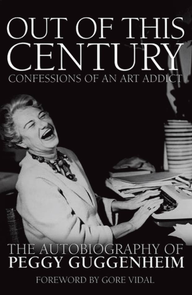 Peggy Guggenheim's autobiography, Out of this Century