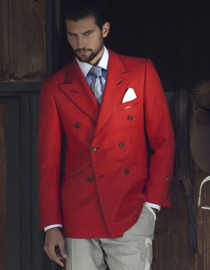 Angelo Galasso linen jacket, £2,700
