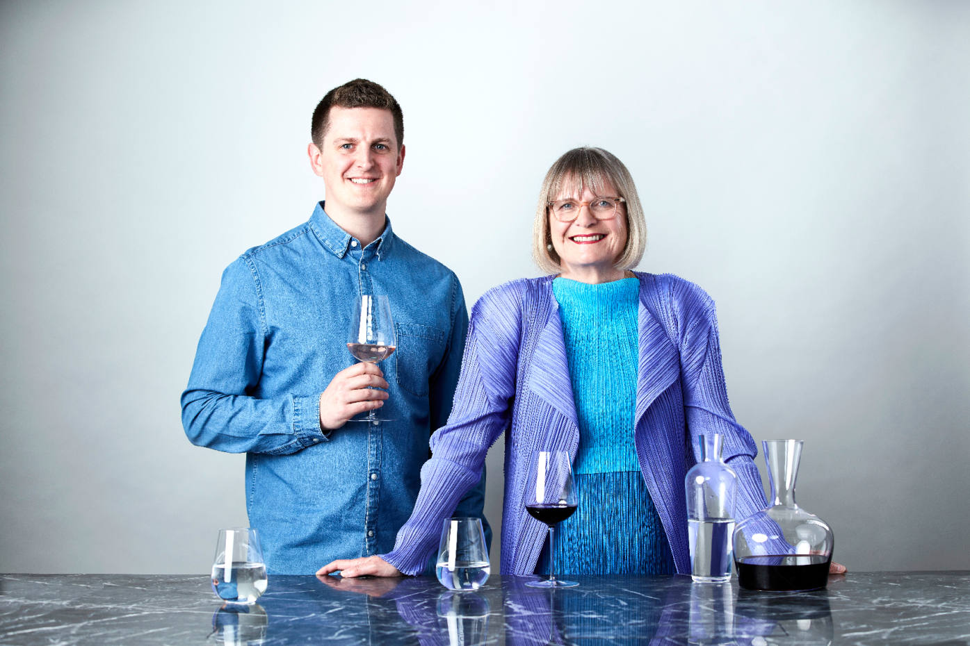 Jancis Robinson and Richard Brendon have joined forces to create superlative glassware