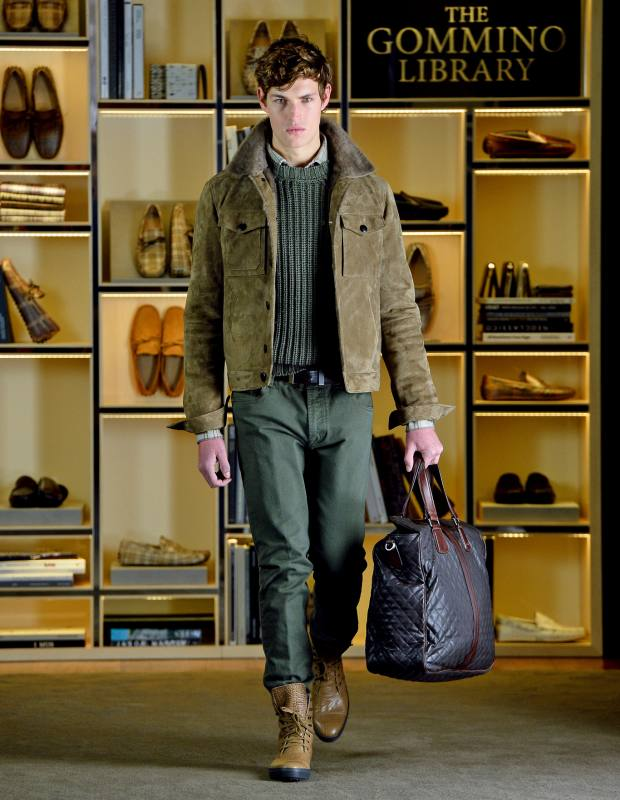 Tod's suede shearling jacket, £3,440