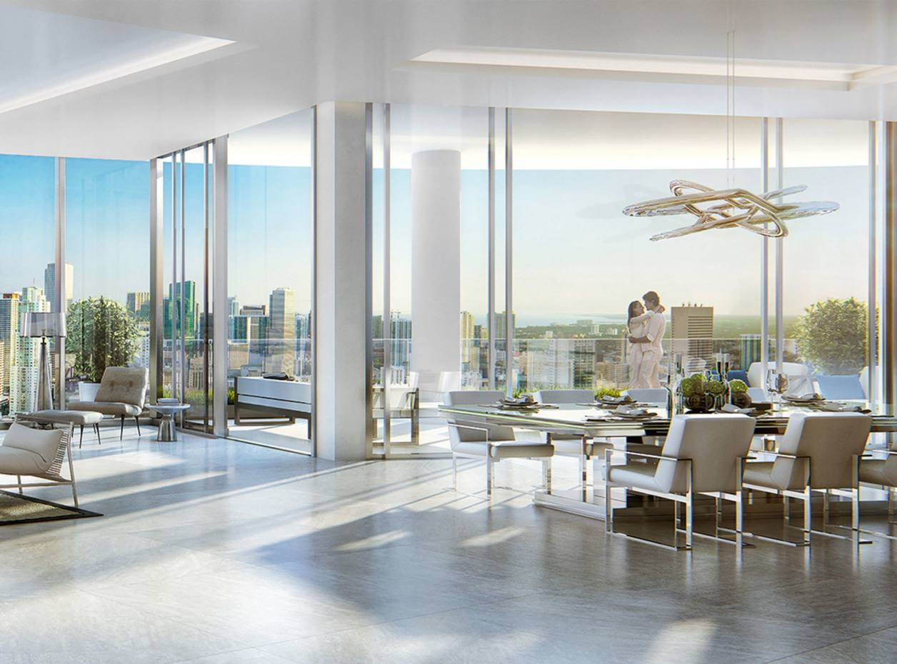 Penthouse at Paramount, Miami, remaining apartments from $1.4m for three bedrooms
