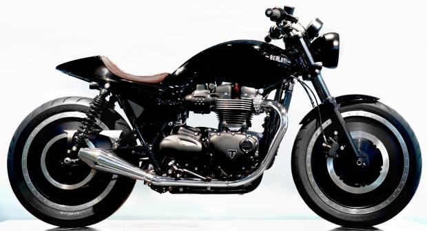 Berluti's new customised collaboration with Triumph Bonneville