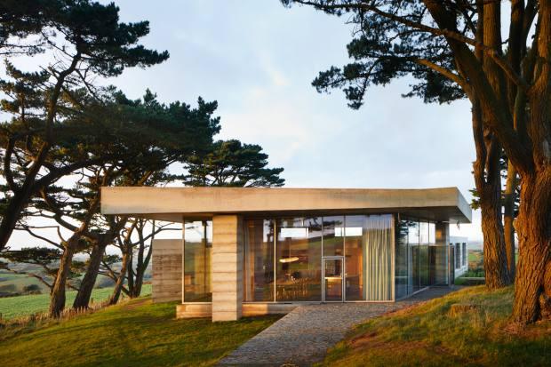 Swiss architect Peter Zumthor's Secular Retreat, in Devon