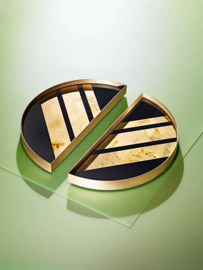 Notre Monde Half Moon Mini Tray, £93 for the pair
