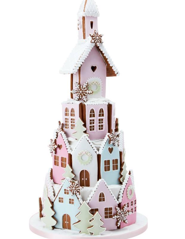 Peggy Porschen Gingerbread Winter Village, £395-£650