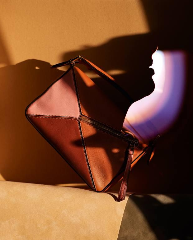 Loewe calfskin William de Morgan Puzzle bag, £1,900