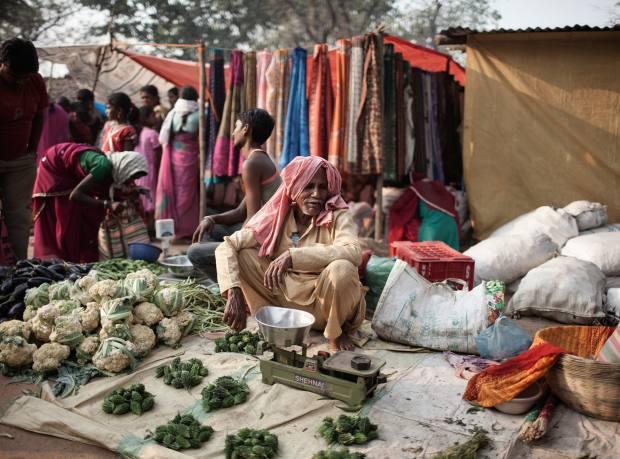 Market place, Gobrahin village