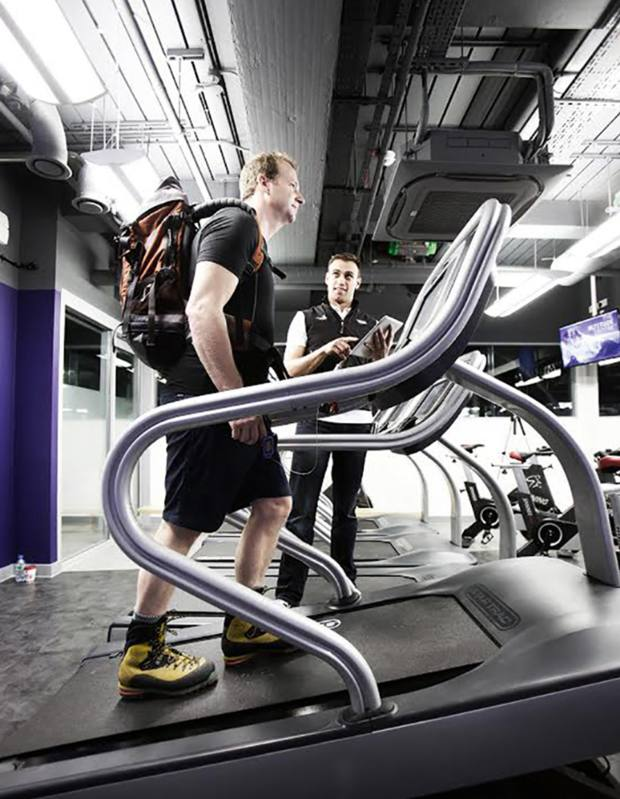 The gym in The Altitude Centre, London