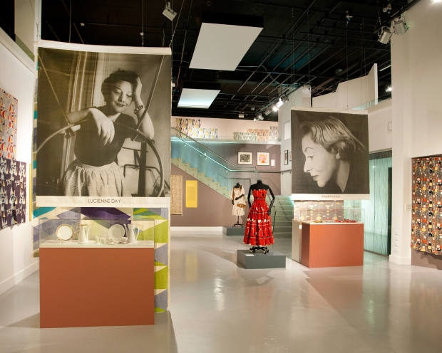 The itinerary includes the Fashion and Textile Museum in London's Bermondsey